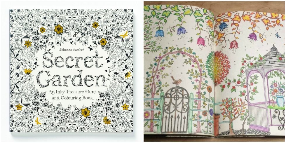 picture - My Secret Garden Coloring Book